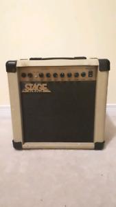 Stage 30 watt guitar amplifier