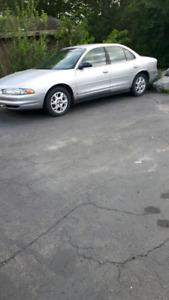 Oldsmobile , wife's car.