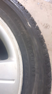 205/50R16 Ford Focus ZX5 tires and rims