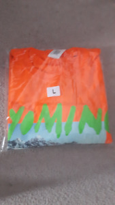 Kanye West Wyoming Orange Longsleeve Large