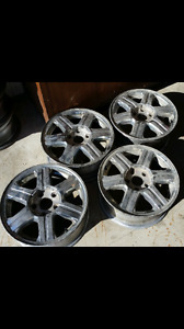 Rims tires and a fee other car parts for sale see ad for details