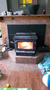 Regency wood stove insert
