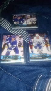 Toronto maple leafs Young gun cards (x3)