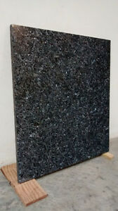 "Plaque de granite ""Blue Perl"" fini mat"