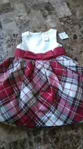 Brand New with Tags 6-12 mts plaid dress gymboree London Ontario image 1
