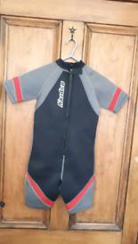 Childs shortie Osprey wetsuit age 8 - 10