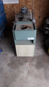 overhead garage furnace