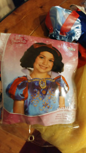 Snow white costume with wig size T4