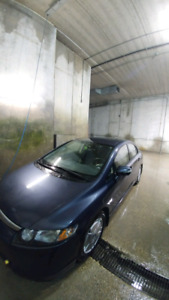 HONDA CIVIC HYBRID 2008 AUTOMATIC 1.3L CLEAN TITLE SAFTIED