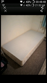 Free Single Bed Frame Divan Great Condition