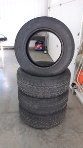 Toyo Open Country tires 265/60R18