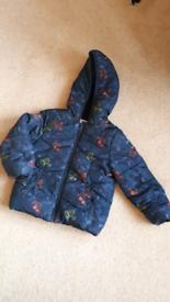 Mothercare boy winter jacket 3-4