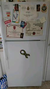 Fridge for sale asking $200