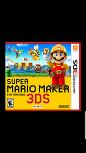 I want super Mario maker and a Wii U