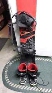 Ltd snowboard and boots