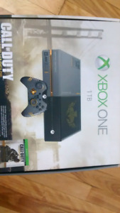 Xbox One 1TB Console & controller limited edition