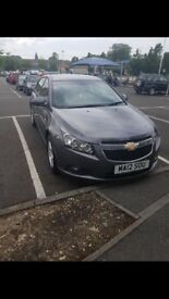 Chevrolet Cruze 1.6L auto 33500 miles low grey 12 months Mot left