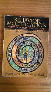 Behavior Modification. What it is and how to do it (8th ed)Garry