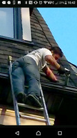 Lucky Ladder licensed professional eaves trough