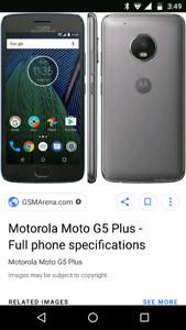Moto G5 16gig unlocked need to sell asap