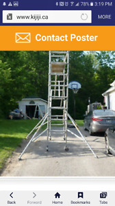 Scaffold adjustable outriggers just like this picture