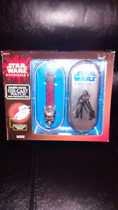 Star wars Darth Maul diecast watch and figures set