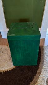 Ballot box - wedding antique retro envelope