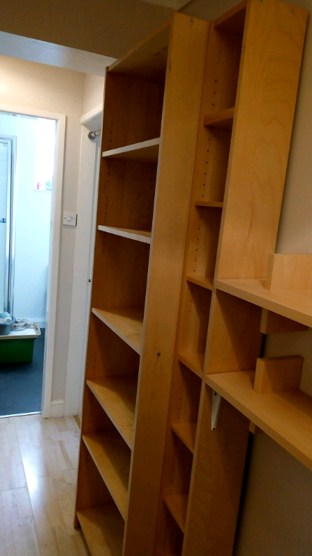 brand new ad3f3 68800 Ikea billy bookcase, cd shelf and two floating shelves.   in Rothwell, West  Yorkshire   Gumtree