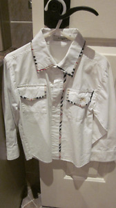 Burberry Dress Shirt - Excellent Condition - Boys 4-5 Toddler