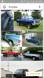 Wanted: pre 87 project car or truck