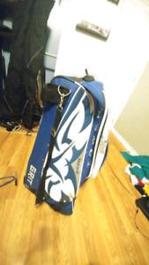 Hockey gear and bag