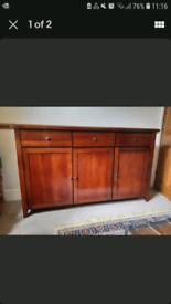 Beautiful Solid Wood Mahogany Sideboard