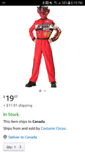 New kids speed demon costume