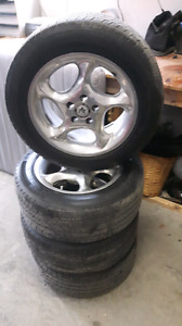 * REDUCED* American Racing Rims w/ Michelin Destiny Tires