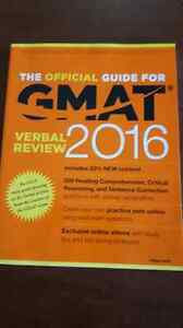 GMAT review guide with quantitative and verbal companion books Cambridge Kitchener Area image 3