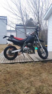 xr 400r supermoto try your trade!