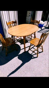 Solid wood dining/ kitchen set.