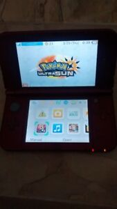 Nintendo 3ds XL With pokemon Ultra sun