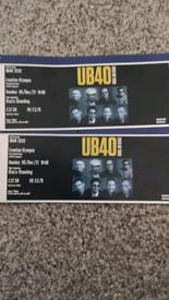 UB40 tickets 5th December Liverpool