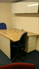 Office desks and units