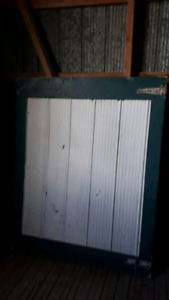 METAL CLAD BARN DOOR