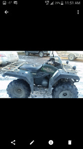 2000 yamaha 600 grizzly with papers works excellent 3000 obo