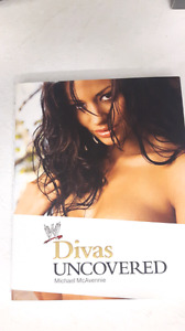 WWE Divas Uncovered hardcover book