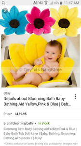 Looking for a blooming flower baby bath