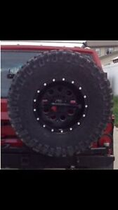 Mickey Thompson and fuel rims