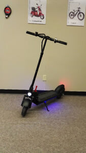 electric pushing scooter - 10'' inch wheel