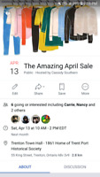 The amazing april sale