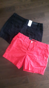 NWT ladies Size 6 calvin klein shorts