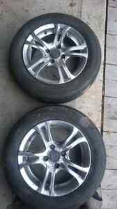 4 bolt honda civic rims and tires