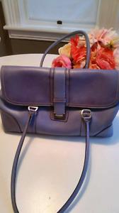 Liz Claiborne purse (purple with pink liner)